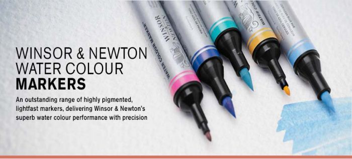 Why not try these highly pigmented Watercolour markers