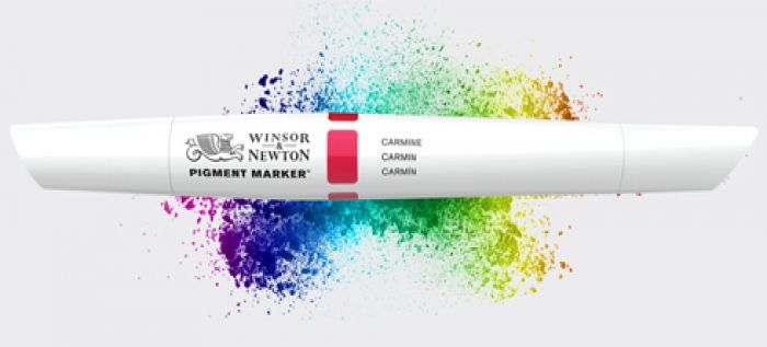 NEW Pigment Markers, using only the highest grade, lightfast, fine art pigments!