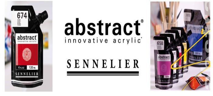 Now stocking Sennelier Abstract Acrylic in this innovative pouch!